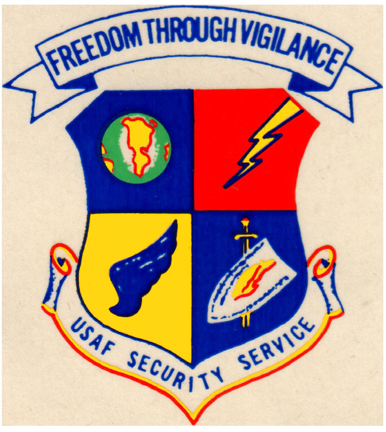 833rd aero squadron - Freedom Through Vigilance Usaf Security Service