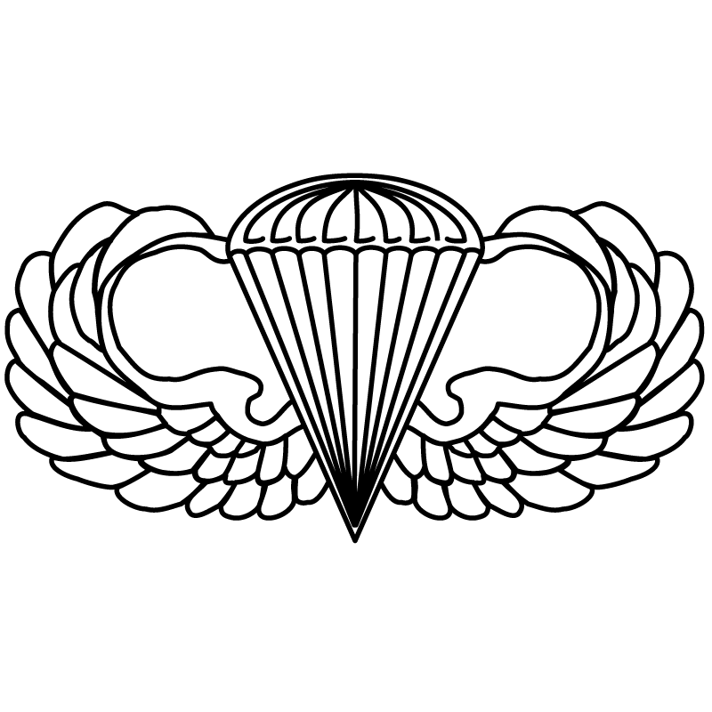 Image result for airborne wings no background