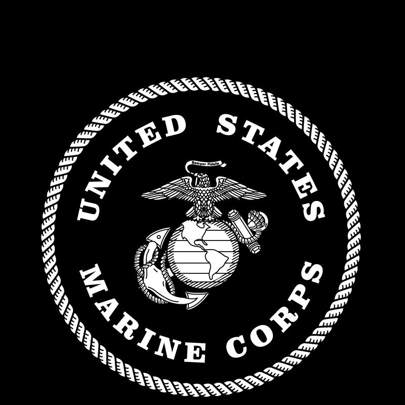 Usmc Logo Black And White Eagle marine corps logo vector hubprime.com