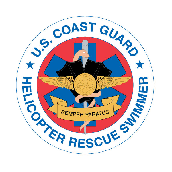 us coast guard helicopter rescue swimmer